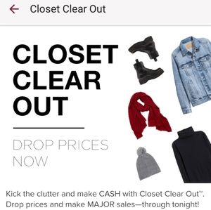 All items in my closet